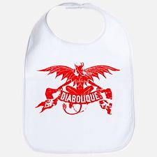 Halloween Red Devil Bib New Baby Gift