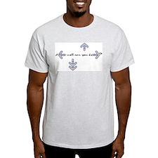 Dance Freak Ash Grey T-Shirt