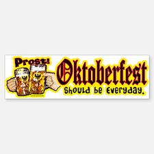 Prost Oktoberfest Everyday Bumper Bumper Bumper Sticker