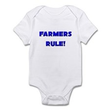 Farmers Rule! Infant Bodysuit