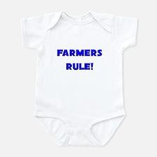 Farmers Rule! Infant Bodysuit