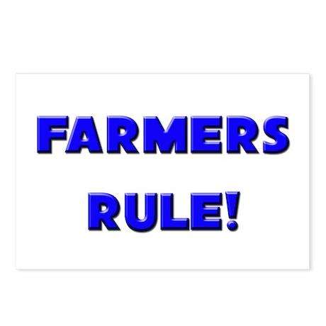 Farmers Rule! Postcards (Package of 8)