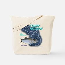 Cute Lake michigan Tote Bag