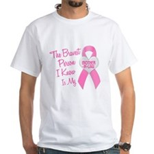 Bravest Person PINK (Mother-In-Law) Shirt