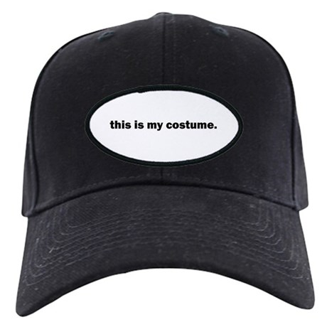 Black Halloween Costume Cap