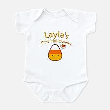 Layla's First Halloween Infant Bodysuit