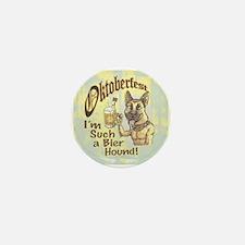 Oktoberfest Beer Hound Mini Button (10 pack)