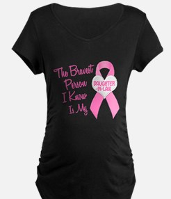 Bravest Person PINK (Daughter-In-Law) T-Shirt