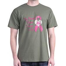 Bravest Person PINK (Best Friend) T-Shirt