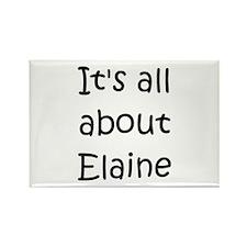 Cute Elaine Rectangle Magnet