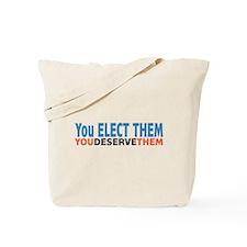 Politician Elections Tote Bag