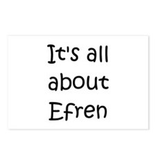 Funny Efren Postcards (Package of 8)