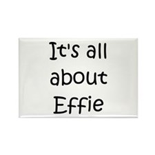 Funny Effie Rectangle Magnet (100 pack)