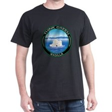 Think Green Polar Bear Wasilla T-Shirt