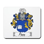 Pozza Family Crest Mousepad