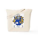 Pozza Family Crest Tote Bag