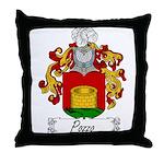Pozzo Family Crest Throw Pillow