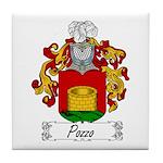 Pozzo Family Crest Tile Coaster