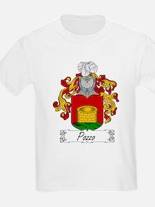 Pozzo Family Crest Kids T-Shirt
