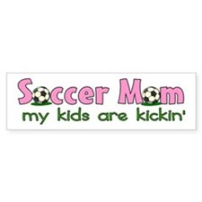 Soccer Mom Bumper Car Sticker