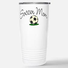 Soccer Mom Stainless Steel Travel Mug