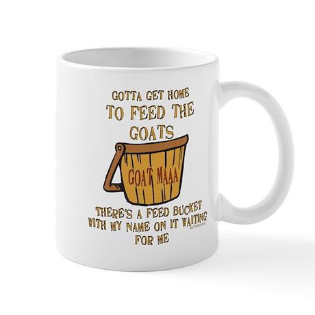 Goat Feed Bucket Maaa Mug