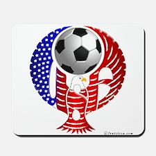 USA Soccer Team Mousepad