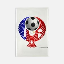 USA Soccer Team Rectangle Magnet