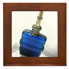 Genie's Bottle Framed Tile