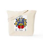 Prata Family Crest Tote Bag