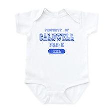 Property of Caldwell Pre-K Infant Bodysuit