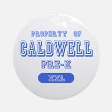 Property of Caldwell Pre-K Ornament (Round)