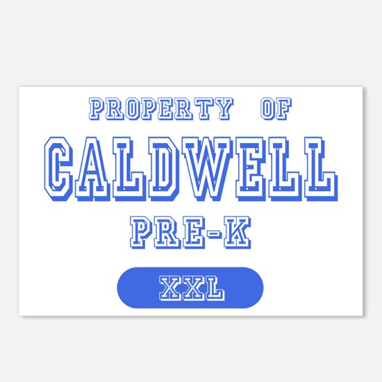 Property of Caldwell Pre-K Postcards (Package of 8