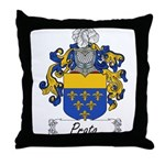 Prato Family Crest Throw Pillow