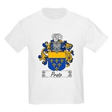 Prato Family Crest Kids T-Shirt