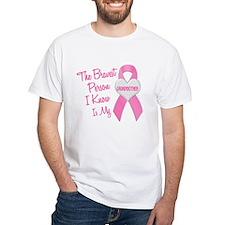 Bravest Person PINK (Grandmother) Shirt