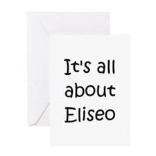 Funny Eliseo Greeting Card