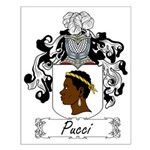 Pucci Family Crest Small Poster