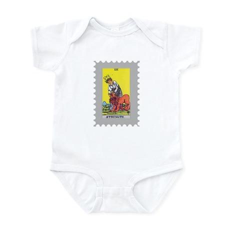 Strength Tarot Card Infant Bodysuit