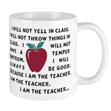 I Am The Teacher Mug