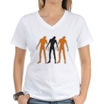 Zombies Women's V-Neck T-Shirt