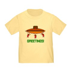 Space Aliens Christmas T