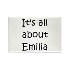 Cute Emilia Rectangle Magnet
