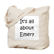 Funny Emery name Tote Bag