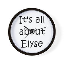 Cool Elyse Wall Clock