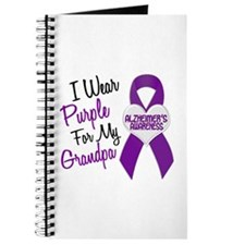 I Wear Purple For My Grandpa 18 (AD) Journal