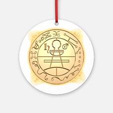 Solomon Seal Ornament (Round)