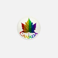 Canada Pride Mini Buttons 100 Pins Gay Pride Gifts