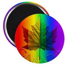 Canada Pride Fridge Magnet Gay Pride Rainbow Gifts