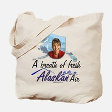 Breath of Fresh Alaskan Air Tote Bag